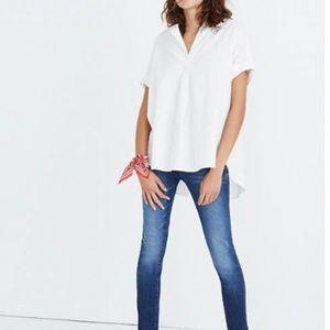 Madewell Courier Button-Back Shirt